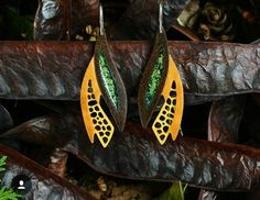 gourd earring by calabarte