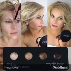This is how you contour like a PRO beautiful @vegas_nay the queen of makeup shows how to create the flawless look using @motivescosmetics palette #makeup#motd#makeupporn#laurag_143#eotd#vegas_nay#cakefaceconfession#farangismua#batalash#wakeupandmakeup#rebellemakeup#triiangleh#theamazingworldofj#industrypro#anastasiabeverlyhills…