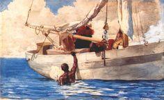 The Coral Divers — Winslow Homer | biblioklept