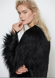 2b90c8aaeb3e Dream Jacket Black. The Style Capsule - Online Womens Fashion Clothing · UNREAL  FUR