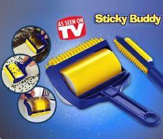 Yapışkanlı Temizleme Seti Sticky Buddy