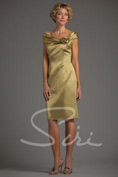388ea0d2d7 SIRI - Anne Bancroft Dress Style Pictured In  Duchess Satin-Moss Skirt  Length from waist to hem  Fabrics Available  Duchess Satin Duppioni HT  Taffeta New ...