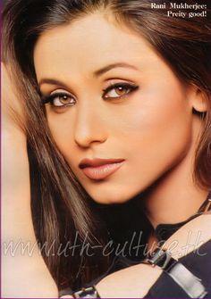 Picture of Rani Mukherjee Beautiful Lips, Gorgeous Women, Amazing Women, Indian Actresses, Actors & Actresses, Rani Mukerji, Model Face, Cute Beauty, Indian Celebrities