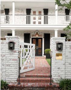 House Tour: University Park, Dallas Home - Design Chic Outdoor Spaces, Outdoor Decor, Corner Lot, Front Entrances, Curb Appeal, House Tours, Beautiful Homes, House Design, Mansions