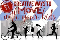 Creative Ways to Move with Your Kids
