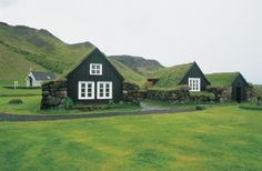 """ohverytired: """" Turf homes in Iceland """""""