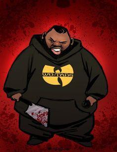 Raekwon The Chef by Tyree Dillihay Dope Cartoon Art, Dope Cartoons, Arte Hip Hop, Hip Hop Art, Arte Dope, Dope Art, Wu Tang Clan, Hip Hop Lyrics, Ghostface Killah