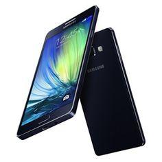 Samsung galaxy A7, 16GB, 3G, Dual Sim black + Free 1g Gold Coin #burjstore #samsung #offer