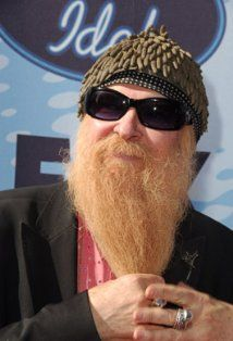Member of rock group ZZ Top.  Born:William Frederick Gibbons  December 16, 1949 in Houston, Texas, USA