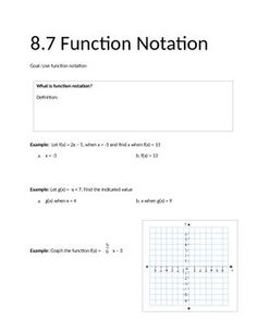function notation worksheet 2 school pinterest worksheets algebra and math. Black Bedroom Furniture Sets. Home Design Ideas