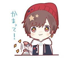 Chibi Boy, Cute Anime Chibi, Kawaii Chibi, Cute Anime Guys, Kawaii Anime, Anime Cat Boy, Cool Anime Pictures, Vocaloid, Chibi Sketch