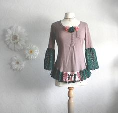 """Redesign existing clothing into something special; add """"cuffs"""" and ruffles, etc...Visit Estate ReSale & ReDesign, LLC in Bonita Springs, FL for ideas and pieces to recycle."""