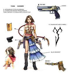 Yuna Gunner - Final Fantasy X-2