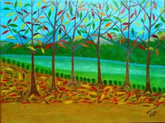 Tons Outonais Painting, Shades, Drawings, Paintings, Art, Painting Art, Painted Canvas
