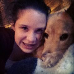 Me and my girl Nala!