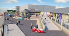 The facility, in a former toilet block, could 'deliver some of UK's best athletes' if plans are given the go-ahead North Wales, Big Waves, Athletes, Olympics, Toilet, To Go, Street View, Kitesurfing, How To Plan