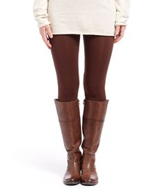 Loving this Brown Crop Leggings on #zulily! #zulilyfinds