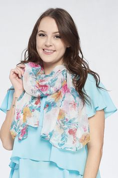 Mia Floral Scarf by Accent Accessories Great Gifts For Mom, Floral Scarf, Scarves, Accessories, Scarfs, Jewelry Accessories