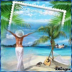 "Képtalálat a következőre: ""good morning summer gif"" Summer Gif, Happy Monday, Good Morning, Beach, Outdoor Decor, Google, Home Decor, Buen Dia, Decoration Home"