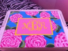 We'll take one of whatever is in there :) [amazing lilly themed cooler]