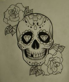 caveira mexicana | Tumblr