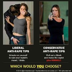 Rape protection, your way vs. my way? 2nd ammendment supporter