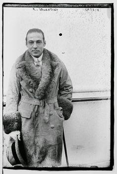 Rudolph Valentino Archives - The Bowery Boys: New York City History Rudolph Valentino, Best Mens Leather Jackets, Art Nouveau, Art Deco, The Bowery Boys, Star Wars, Man Set, Men's Wardrobe, American Actors