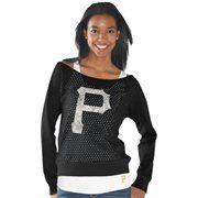 Pittsburgh Pirates Womens Holy Long Sleeve T-Shirt and Tank – Black