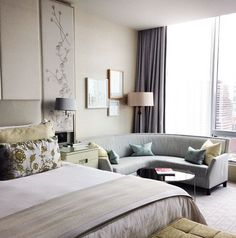 grey and taupe home office idea four seasons hotel toronto  pinterest toronto interiors and galleries