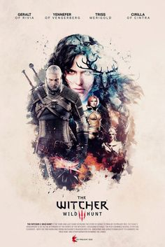 #The Witcher 3: Wild Hunt - Unofficial poster Since I saw The…