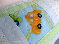 Personalized patchwork cushion.Made to order cushion . Kids room decor.