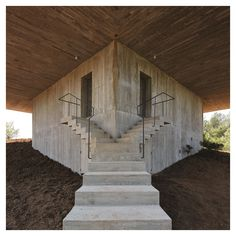 "styletaboo: ""Pezo von Ellrichshausen - Solo House [Spain, 2013] """