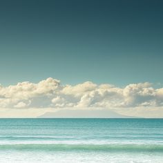 Beautiful beach in Omaha, Auckland, New Zealand.