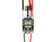 Castle Talon 25A ESC with 8A BEC for 2-6S LiPo