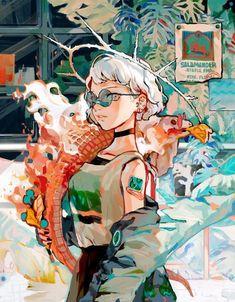 ideas digital art girl anime character design for 2019 Art And Illustration, Character Illustration, Art Illustrations, Art Inspo, Kunst Inspo, Fantasy Kunst, Fantasy Art, Anime Fantasy, Anime Kunst