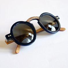 rias Eyewear Mod. Nuraxi Genuine Buffalo Horn di Ariaseyewear