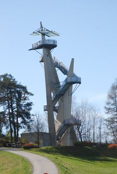 Treppen Skulptur in Österreich