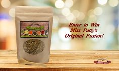 Enter to win Miss Patty's Original Fusion with YOUR featured Fan Fare Favorites Recipe! Recipes are due by Wednesday, September 30. Submit your recipe to info@misspattysspices.com by Wednesday, September 30. The winner will be announced Friday, October 2. With Miss Patty's Fusions, enjoy Perfectly Spiced Dishes ... Every Time!    http://misspattysspices.com    Visit us at https://www.facebook.com/misspattysspices to learn more and for Contest Terms.