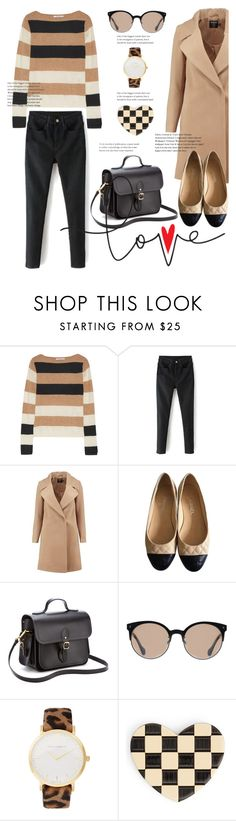"""1st Set of 2017"" by pure-vnom ❤ liked on Polyvore featuring MaxMara, Boohoo, Chanel, The Cambridge Satchel Company, Balenciaga, Larsson & Jennings and Marc Jacobs"