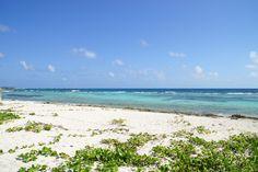 Playa Majahual, Quintana Roo, México
