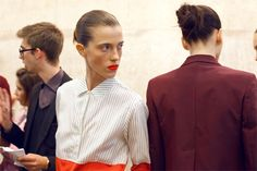 Backstage Beauty Files: LONDON FW SPRING 2013 - Paul Smith
