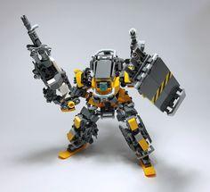 https://flic.kr/p/Q2FbDm | LEGO Robot Mk10-06