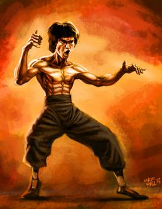 Bruce Lee, the man himself was awesome and is awesome. This is just my ...