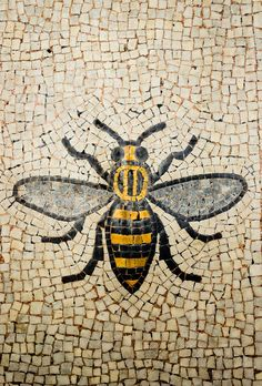 Manchester Bee by MHeathPhoto on Etsy