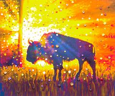 Connect to the ancient bison/buffalo prophesy of abundance without effort. Energy Artist Julia has created this metaphysically enhanced image to help you connect to the energy of abundance through the buffalo/bison spirit.