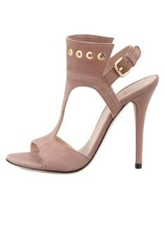 Dreaming of spring and these Stuart Weitzman suede sandals