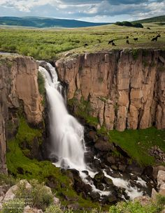 Clear creek falls , Colorado .