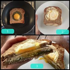 This morning I tried @soniatlevfitness breakfast recipe, and it was delicious! I put avocado and sliced chicken breast on the sandwich with the Ezekiel bread and a fried egg 🍳 ||27C, 25P, 13F|| 300 cal, sugar: 1g  #candida #candidadiet #sugarfree #dairyfree #healthyeating #eatclean #healthylifestyle #balance #fitfoodie  via ✨ @padgram ✨(http://dl.padgram.com)