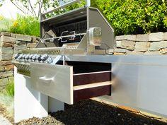 Schön Individuelle Hochwertige Luxus Outdoor Küchen Von Rheingrün® Living  Gartengrill
