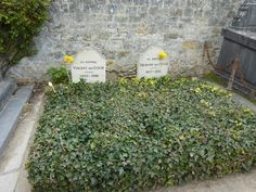 Gravesites of Vincent and Théodore Van Gogh - Auvers-sur-Oise  FRANCE